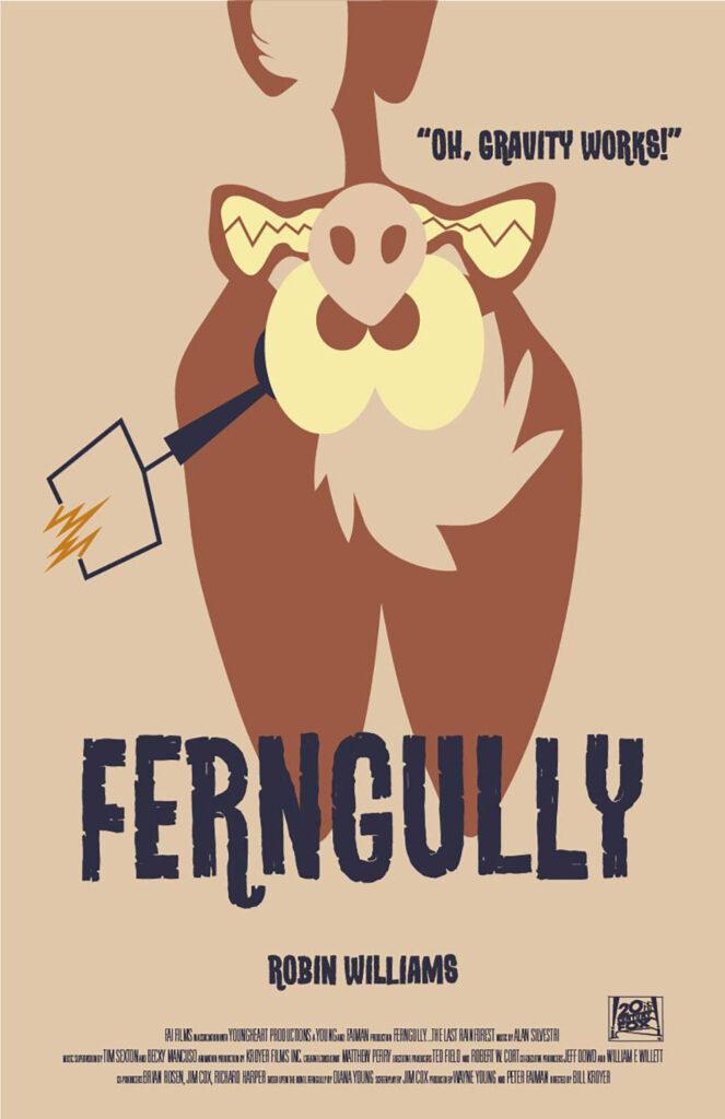 Ferngully Movie Poster IV