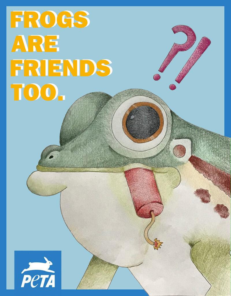 Peta Ad by Joey Cahill