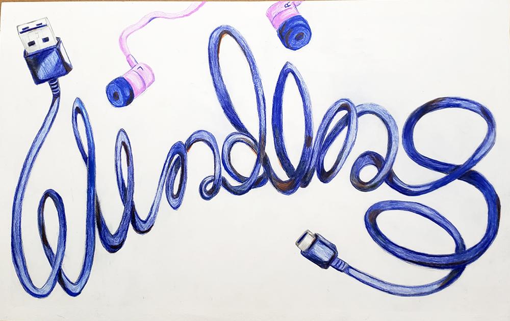Winding by Cally Hazzard