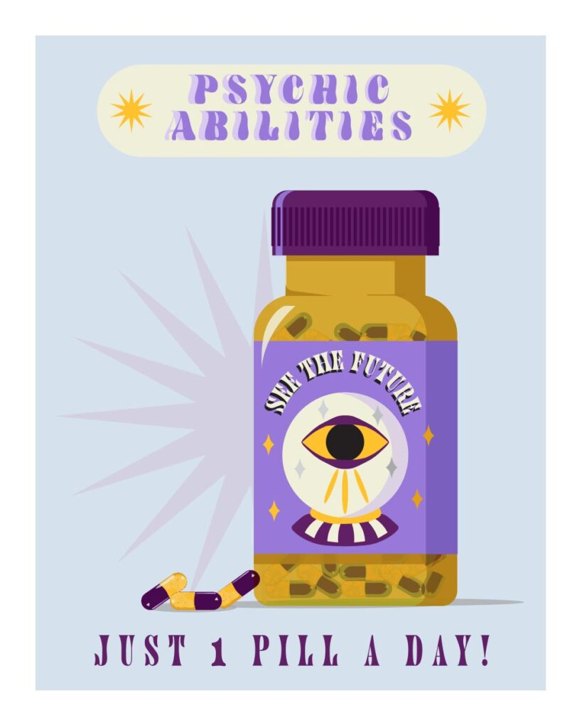 Psychic Pills by Kayla Lewis