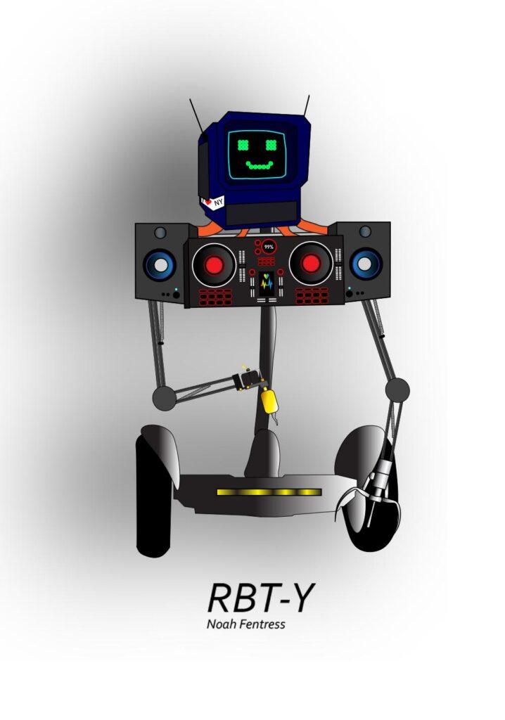 Robot by Noah Fentress