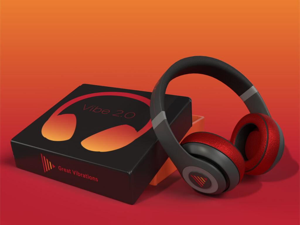 Great Vibrations Earphones Packaging
