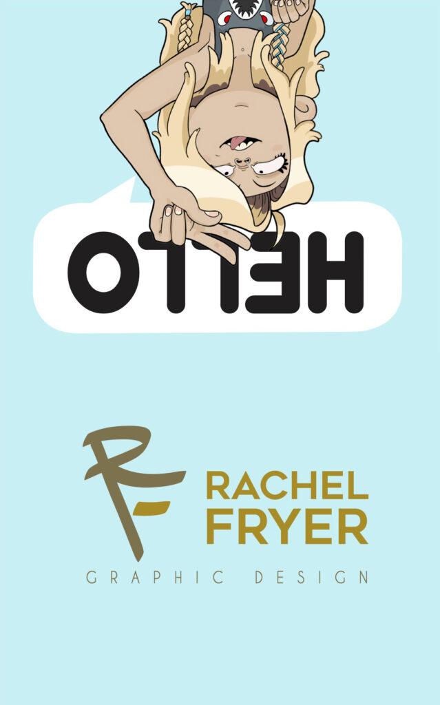 Self Promotion by Rachel Fryer