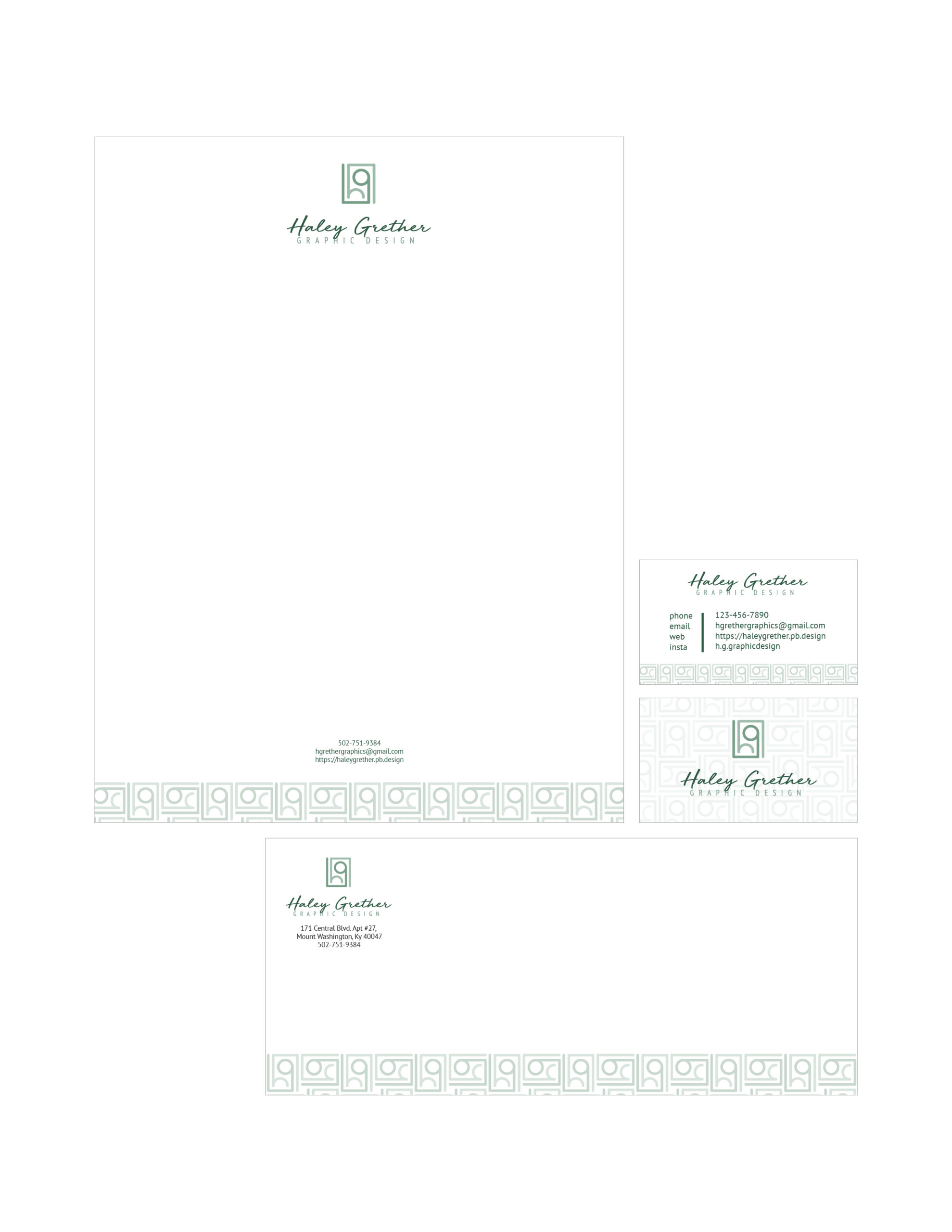 Haley Grether Personal Stationery
